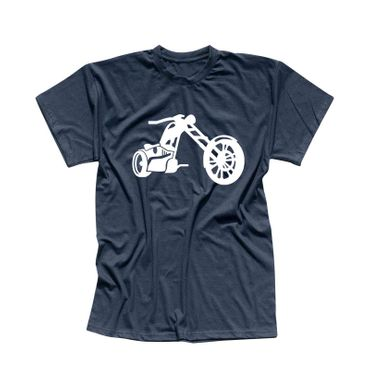 T-Shirt Chopper 3D Logo Biker Motorrad Rocker Cruiser Rider 13 Farben Men XS-5XL – Bild 11