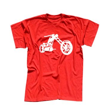 T-Shirt Chopper 3D Logo Biker Motorrad Rocker Cruiser Rider 13 Farben Men XS-5XL – Bild 13