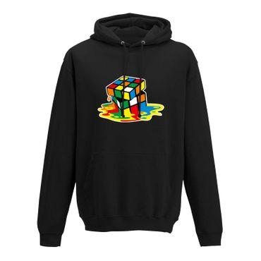 Hoodie Sheldon Würfel Big Bang Theory 80er Cube Nerd 10 Farben Herren XS-5XL