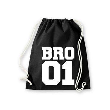 Turnbeutel Bro01 ohne BF Gym-Bag Jute-Bag 11 Farben