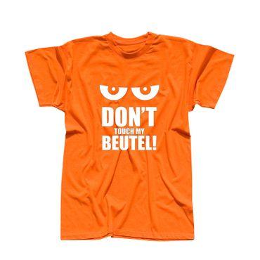 T-Shirt Don't touch my Beutel Spruch witzig Geschenk 13 Farben Herren XS - 5XL – Bild 14