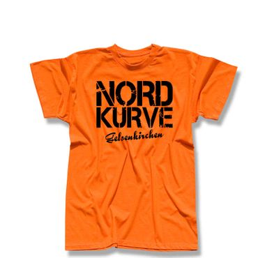 T-Shirt Nordkurve Gelsenkirchen Ultras Fussball Buliga 13 Farben Herren XS - 5XL – Bild 14
