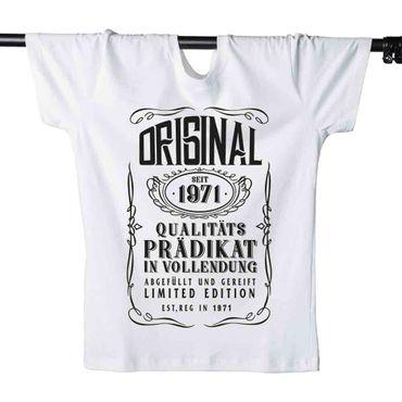 T-Shirt 49. Geburtstag Prädikat Vollendung Original 1971 49ster Herren XS - 5XL – Bild 4