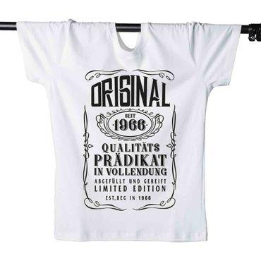 T-Shirt 54. Geburtstag Prädikat Vollendung Original 1966 54ster Herren XS - 5XL – Bild 4
