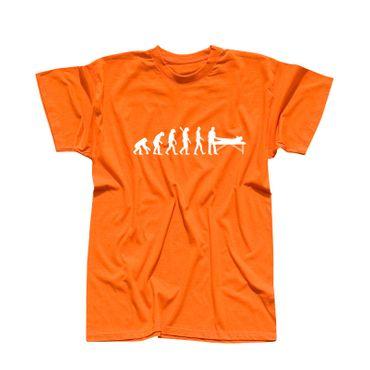 T-Shirt Evolution Physiotherapeut Chiro Masseur Therapie 13 Farben Herren XS-5XL – Bild 14