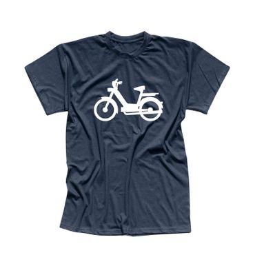T-Shirt Mofa Herkules Simson Vespa Roller Motorroller 13 Farben Herren XS-5XL – Bild 11