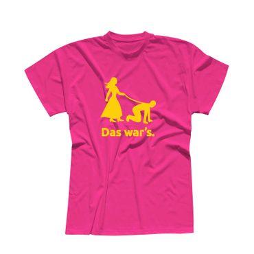 JGA T-Shirt Das war's Hochzeit Junggesellenabschied 13 Farben Herren XS-5XL – Bild 9