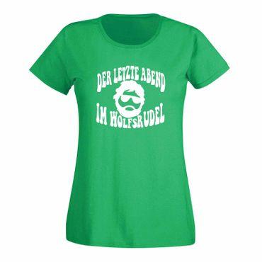 JGA T-Shirt Wolfsrudel Hochzeit Junggesellenabschied Fun 15 Farben Damen XS-3XL – Bild 9