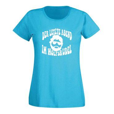 JGA T-Shirt Wolfsrudel Hochzeit Junggesellenabschied Fun 15 Farben Damen XS-3XL – Bild 12