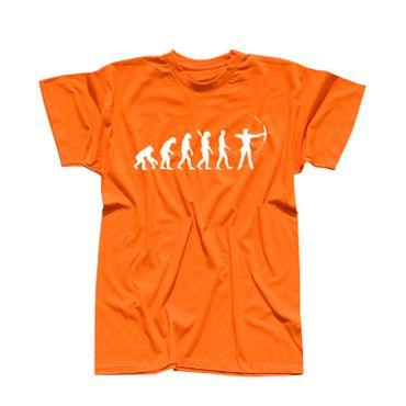 T-Shirt Evolution Bogenschütze Kyudo FITA Robin Hood 13 Farben Herren XS - 5XL – Bild 14