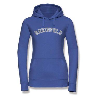 Rheinfeld Hoodie Damen College Style Geschenk Präsent Dormagen 8 Farben XS - XL – Bild 22