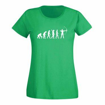 T-Shirt Evolution Bogenschütze Kyudo FITA Robin Hood 15 Farben Damen XS - 3XL – Bild 9