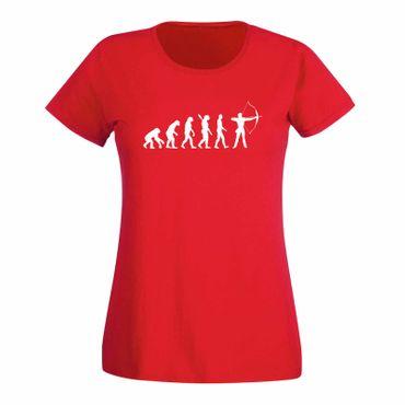 T-Shirt Evolution Bogenschütze Kyudo FITA Robin Hood 15 Farben Damen XS - 3XL – Bild 15