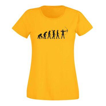 T-Shirt Evolution Bogenschütze Kyudo FITA Robin Hood 15 Farben Damen XS - 3XL – Bild 17