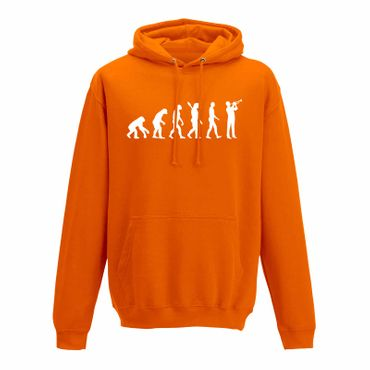 Hoodie Evolution Trompeter Jazz Funk Big Band Musik 10 Farben Herren XS - 5XL – Bild 11