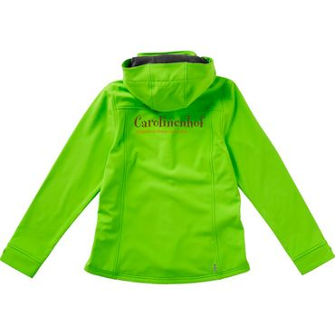 "Elevate Soft-Shell-Jacke ""CAROLINENHOF"" Langley , Damen in grün – Bild 2"