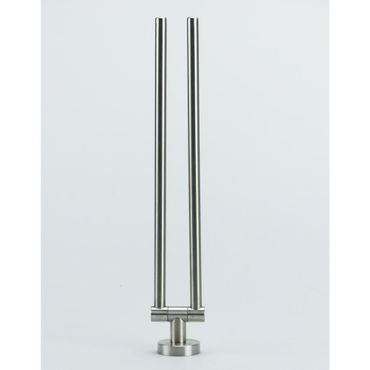 Hochwertiger Handtuchhalter Handtuchstange zweiarmig Edelstahl matt gebürstet / 40.452/000 – Bild 4