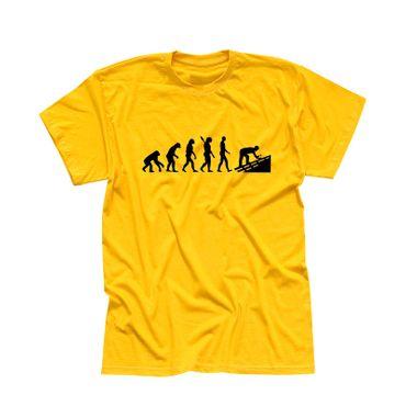 T-Shirt Evolution Dachdecker Tischler Zimmermann 13 Farben Herren XS - 5XL – Bild 15