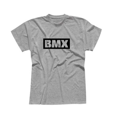 T-Shirt BMX Schriftzug Box Logo Bicycle Motocross Jumps 13 Farben Herren XS-5XL – Bild 7
