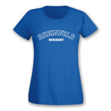 Rheinfeld T-Shirt Damen Resident Geschenk Dormagen Präsent 11 Farben XS - 2XL – Bild 9