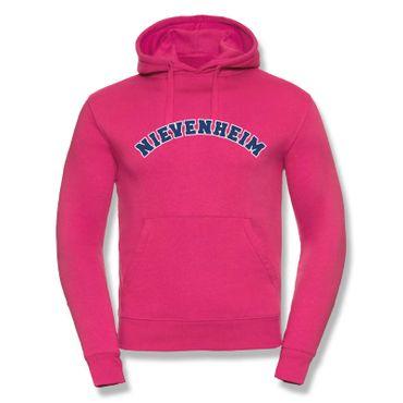 Nievenheim Hoodie Herren College Style Geschenk Präsent Dormagen 8 Farben XS-3XL – Bild 6