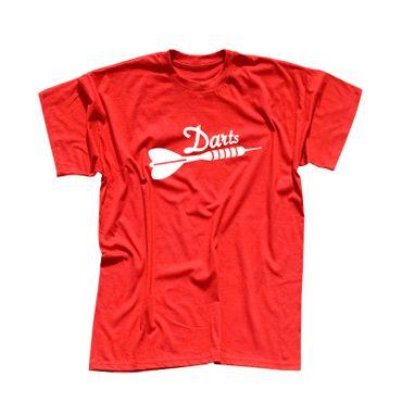 T-Shirt Darts Pfeil Dartboard Sport Zielscheibe darten 13 Farben Herren XS - 5XL – Bild 13