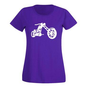 T-Shirt Chopper 3D Biker Motorrad Rocker Cruiser Rider 15 Farben Damen XS - 3XL – Bild 14