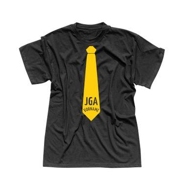 JGA Shirt Krawatte Wunschname Anzug Hochzeit Feier Party 15 Farben Herren XS-5XL – Bild 4