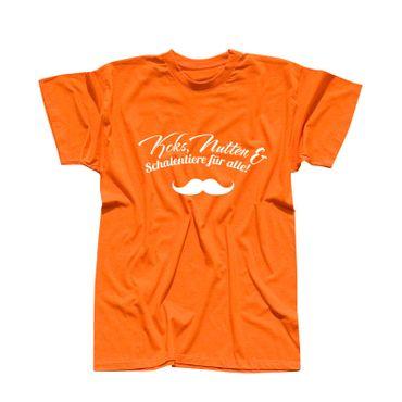 JGA Shirt Koks Nutten u Schalentiere für alle Fun-Shirt 15 Farben Herren XS-5XL – Bild 15