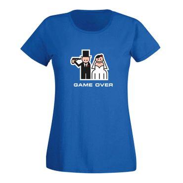 JGA Shirt Game Over Braut heiraten Hochzeit Feier 15 Farben Damen XS - 3XL – Bild 11