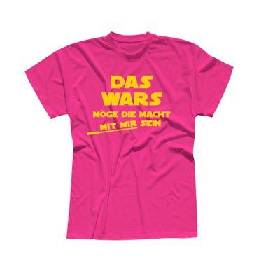 JGA Shirt Das war's für Name Möge die Macht mit mir sein Star Wars Herren XS-5XL – Bild 18