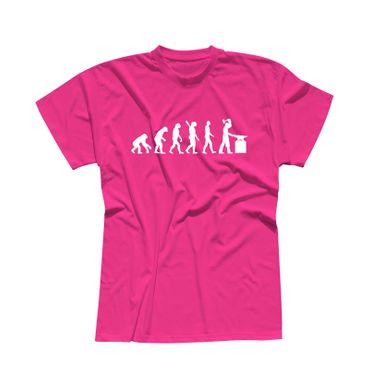 T-Shirt Evolution Schmied Hufschmied Metallbauer Eisen 13 Farben Herren XS - 5XL – Bild 5