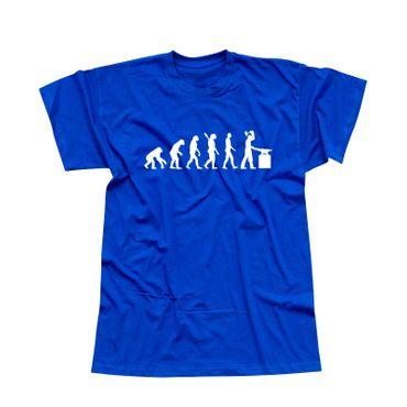 T-Shirt Evolution Schmied Hufschmied Metallbauer Eisen 13 Farben Herren XS - 5XL – Bild 12