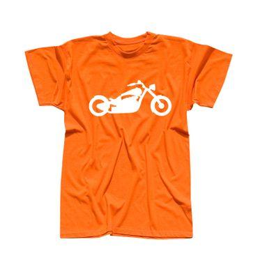 T-Shirt Chopper Biker Motorrad Rocker Cruiser Rider 13 Farben Herren XS - 5XL – Bild 14