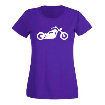 T-Shirt Chopper Biker Motorrad Rocker Cruiser Rider 15 Farben Damen XS - 3XL – Bild 14