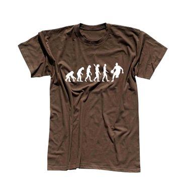 T-Shirt Evolution Basketball dribbeln Sport Korb NBA 13 Farben Herren XS - 5XL – Bild 8