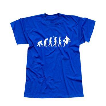 T-Shirt Evolution Basketball dribbeln Sport Korb NBA 13 Farben Herren XS - 5XL – Bild 12