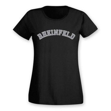 Rheinfeld T-Shirt Damen College Style Geschenk Präsent Dormagen 8 Farben XS-3XL – Bild 3
