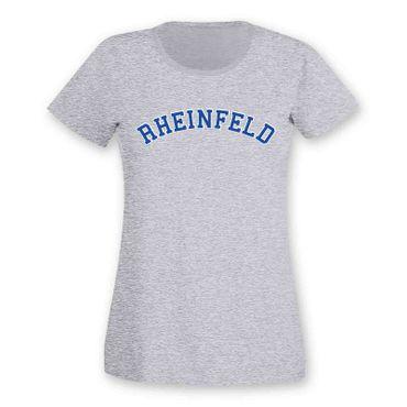 Rheinfeld T-Shirt Damen College Style Geschenk Präsent Dormagen 8 Farben XS-3XL – Bild 9
