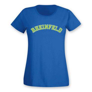 Rheinfeld T-Shirt Damen College Style Geschenk Präsent Dormagen 8 Farben XS-3XL – Bild 21