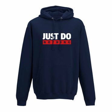 Hoodie Just Do Nothing faul Athletics Sport Fun-Shirt 10 Farben Herren XS - 5XL – Bild 7