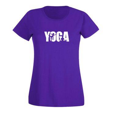 T-Shirt Yoga Meditation Geist spirituell Lotus Kriya 15 Farben Damen XS - 3XL – Bild 14