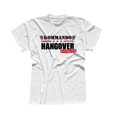 T-Shirt Kommando Hangover Elitetrinker JGA Party feiern 13 Farben Herren XS-5XL – Bild 4