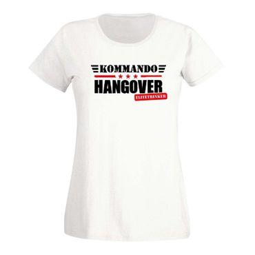 T-Shirt Kommando Hangover Elitetrinker JGA Party feiern 15 Farben Damen XS - 3XL – Bild 4