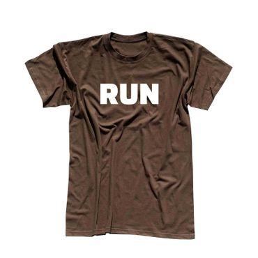 T-Shirt RUN Laufen Joggen Marathon Sport Fitness Staffel 13 Farben Herren XS-5XL – Bild 8