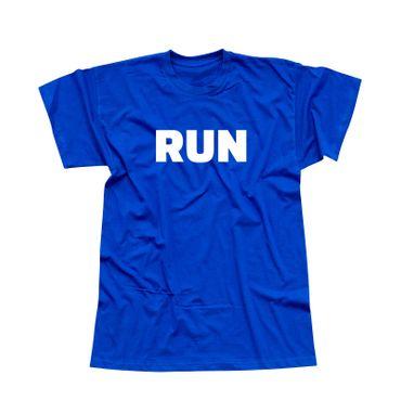 T-Shirt RUN Laufen Joggen Marathon Sport Fitness Staffel 13 Farben Herren XS-5XL – Bild 12