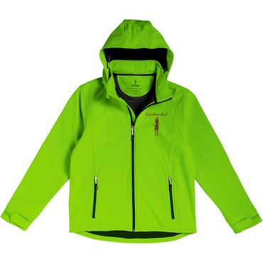"Elevate Soft-Shell-Jacke ""CAROLINENHOF"" Langley , Herren in grün – Bild 1"