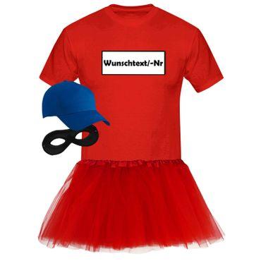 T-Shirt Panzerknacker Deluxe+ Kostüm-Set + Tütü Karneval Fasching Herren XS-5XL – Bild 9