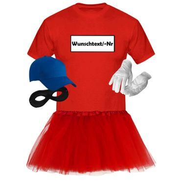 T-Shirt Panzerknacker Deluxe+ Kostüm-Set + Tütü Karneval Fasching Herren XS-5XL – Bild 10