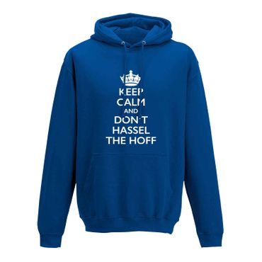 Hoodie Krone + Keep Calm don't Hassel the Hoff Baywatch 10 Farben Herren XS-5XL – Bild 8